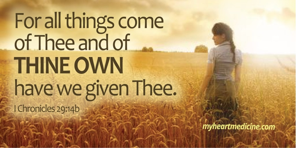 of thine own (2)